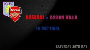 Live Blog: FA Cup Final – Arsenal 4-0 AstonVilla