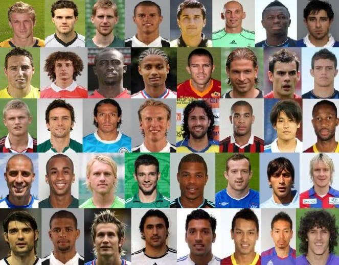 Football Player PictureQuiz