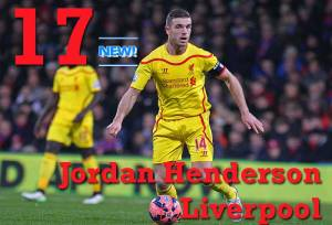 Jordan Henderson is also a good pick at 7.0.