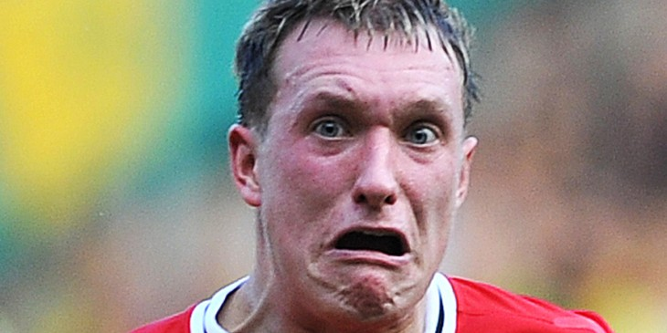Manchester United's English defender Phi