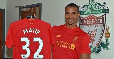 Liverpool-Unveil-New-Signing-Joel-Matip